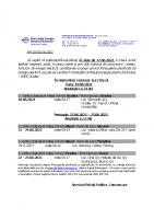 C. 18.06.2021 – PL Oradea si 22-25.06.2021 – PL Sacueni+Marghita+Rural