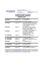 A. 31.07.2021 -06.08.2021- PL Beius + Alesd + Sacueni + Oradea + Rural- anuntate cu 2 zile